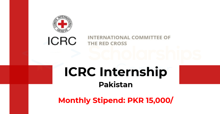ICRC Internship 2019 for 3 Months - Monthly stipend of PKR